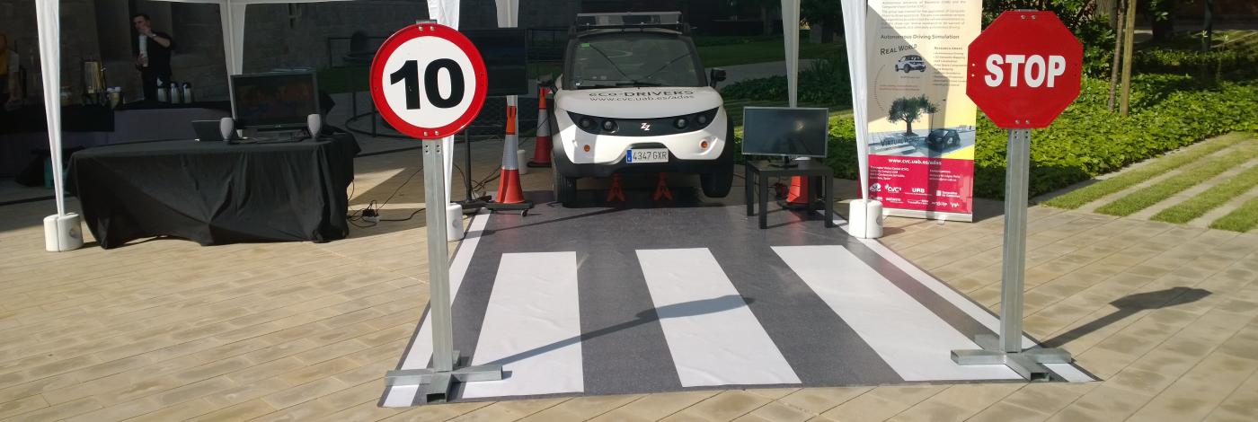 Elektra – Autonomous Vehicle developed by CVC & UAB & UPC